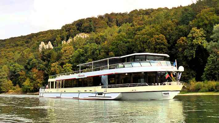 MS Renate in Kelheim